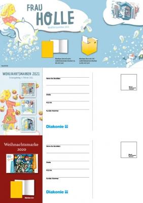 Bestellpostkarte ohne Eindruck