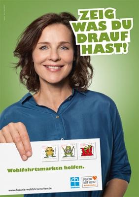 Plakat Wohlfahrtsmarken DIN A3 2018