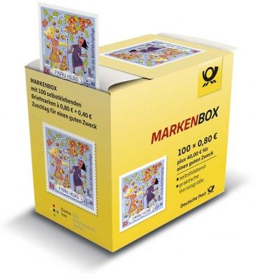 Wohlfahrtsmarken 2021 100er-Marken-Box