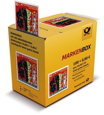 Wohlfahrtsmarken 2020 100er-Marken-Box