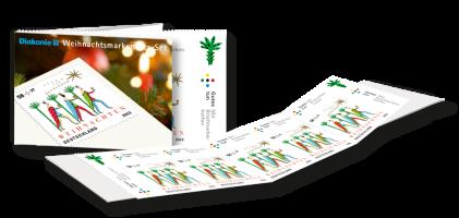 Weihnachtsmarken 2013 5er-Marken-Set